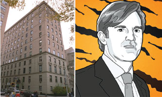 4 East 66th Street on the Upper East Side and Chase Coleman (credit: Mike Nudelman/Business Insider)