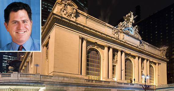 Grand Central (inset: Michael Dell)
