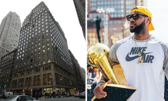 530 Seventh Avenue and Lebron James