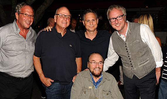 Neal Sroka, Howard Lorber, Jason Binn, Ian Duke and James Lipton (Photo Credit: Rob Rich/SocietyAllure.com)
