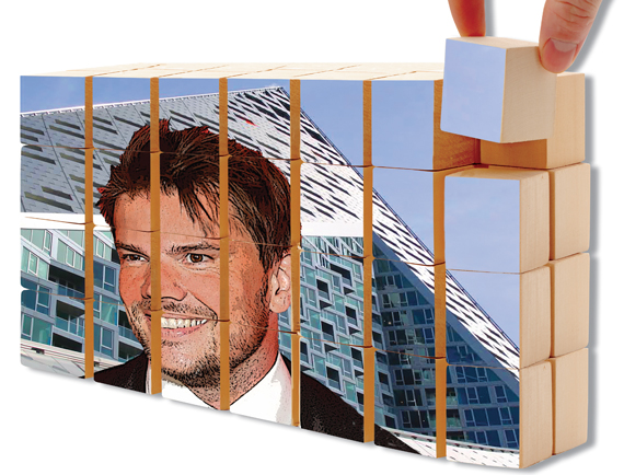 Bjarke Ingels with the Durst Organization's Via 57 West