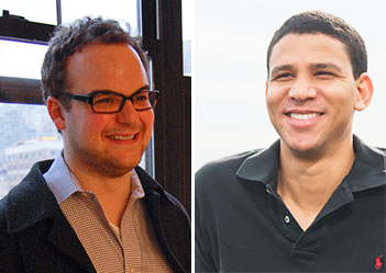 From left: Avi Dorfman (Credit: Columbia Spectator) and Robert Reffkin (Credit: Urban Compass)