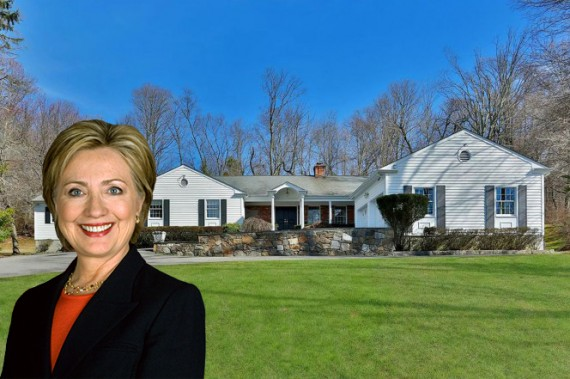 Hilary Clinton and 33 Old House Lane