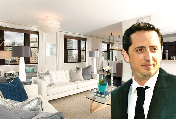 124 Hudson Street in Tribeca and Gad Elmaleh