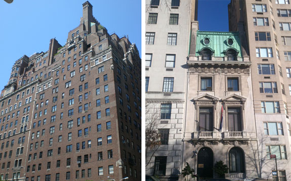 730 Park Avenue and 854 Fifth Avenue