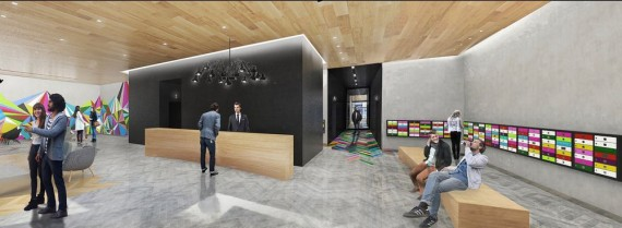145 East 125th Street Lobby (credit: Blumenfeld Development Group)