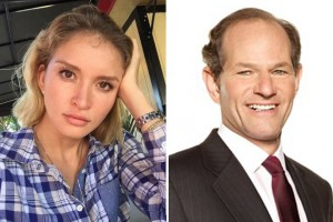 Svetlana Travis (credit: Instagram) and Eliot Spitzer
