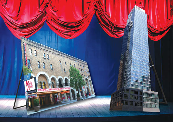 Al Hirschfeld Theatre and The Platinum