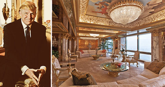 Donald trump white house trump tower for Trump tower new york penthouse