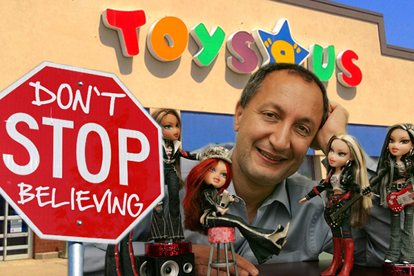 Despite failed crowdfunding effort, billionaire continuing with Toys