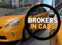 Brokers in Cabs