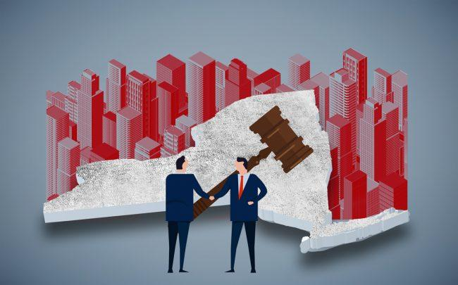 Five real estate trade associations are providing financial backing to a constitutional lawsuit looking to upend New York's rent law (Credit: iStock)