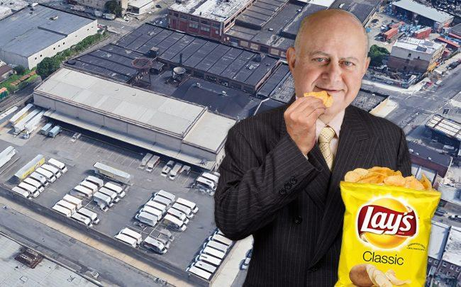 Prologis CEO Hamid Moghadam and 18-51 Flushing Ave. (Credit: Google Maps, iStock)