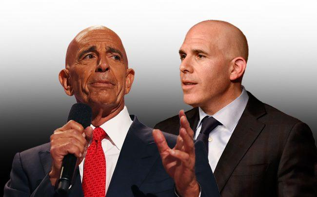 Colony Capital's Tom Barrack and RXR Realty's Scott Rechler (Credit: Getty Images)