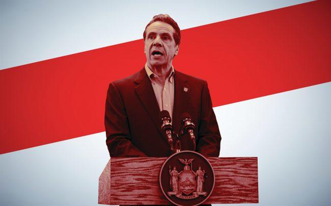 Gov. Andrew Cuomo ordered all non-essential businesses to operate remotely (Credit: Getty Images)