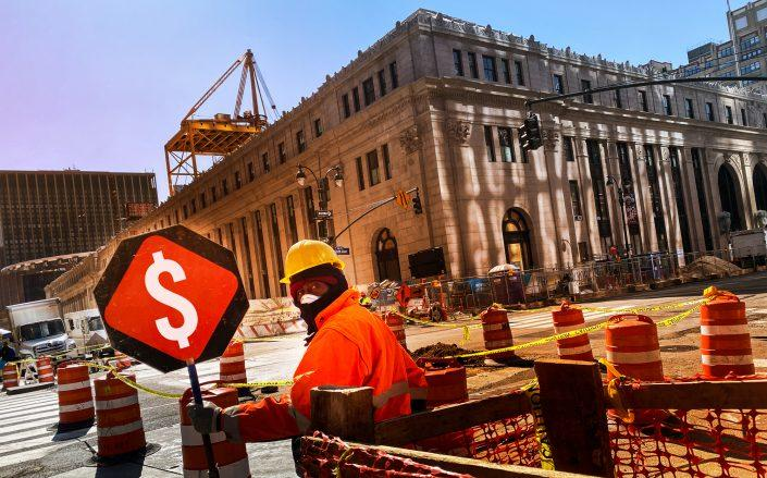The extended shutdown of construction sites throughout New York will affect loans, insurance costs and supply availability (Credit: iStock)
