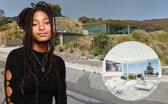 Willow Smith and her Malibu home (Getty, Google Maps, Realtor)