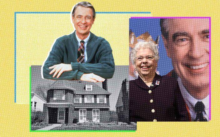 The home in Pittsburgh with Fred Rogers and his wife Joanne Rogers (Realtor, Getty)