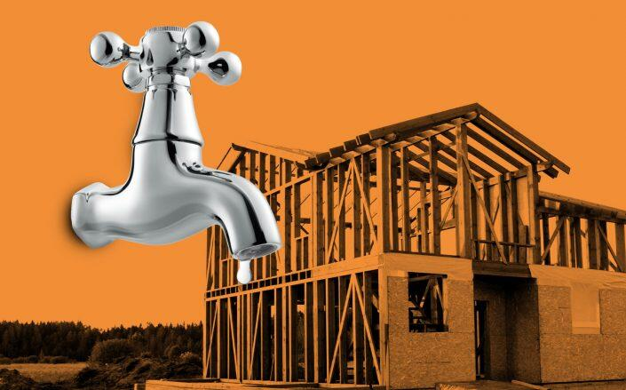 Towns and cities have begun restricting housing construction to save their supply of H2O. (iStock)