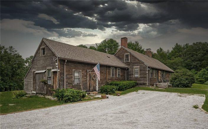 The Burrillville, Rhode Island home is booked through the end of 2022 to paranormal investigators (Sotheby's)